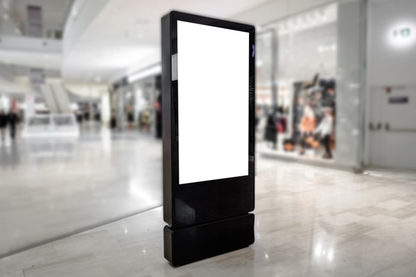 Digital Signage, display screens